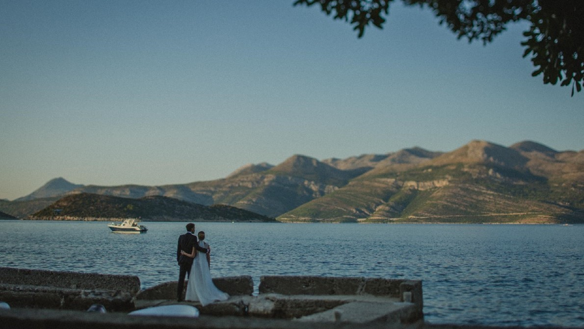 Lopud island wedding